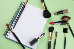Cosmetic background Royalty Free Stock Photos