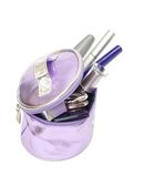 Cosmetic in bag Stock Photography