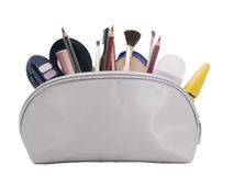 Cosmetic bag Stock Image