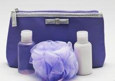 Cosmetic bag Stock Photo