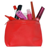 Cosmetic bag. Royalty Free Stock Image