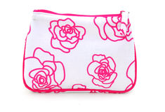 Cosmetic bag Stock Photo