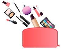 Cosmetic bag Royalty Free Stock Photos