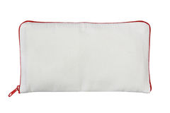 Cosmetic bag. On white background Royalty Free Stock Photo