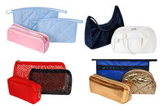 Cosmetic bags Royalty Free Stock Image