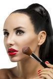 Cosmetic. Base for Perfect Make-up Stock Photography
