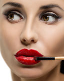 Cosmetic. Base for Perfect Make-up Stock Images