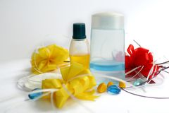 Cosmetic - Beauty items Stock Images