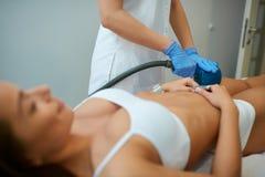 Cosmetic beauty treatment  at spa clinic Stock Photos