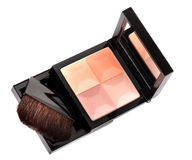 Cosmetic blush palette Stock Images