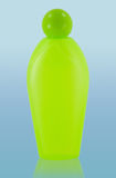 Cosmetic bottle with clipping path Royalty Free Stock Image