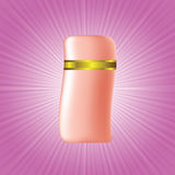 Cosmetic bottle Royalty Free Stock Photos