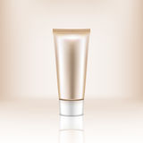 Cosmetic Bottle of Cream Royalty Free Stock Photo