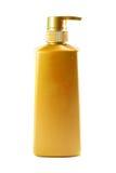 Cosmetic bottle. Isolated on white background Stock Photos