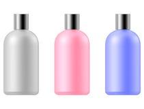 Cosmetic bottle set Royalty Free Stock Image