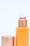 Cosmetic bottle  on white background Royalty Free Stock Images