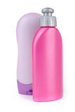 Cosmetic bottles Royalty Free Stock Photos