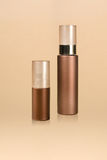 Cosmetic bottles Royalty Free Stock Images