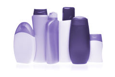 Cosmetic bottles Stock Photography