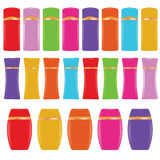 Cosmetic bottles Royalty Free Stock Image