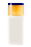 Cosmetic bottles isolated on white background Stock Photo