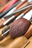 Cosmetic brush stock image