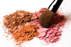 Cosmetic brush Stock Photography