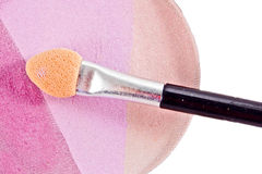 Cosmetic brush Royalty Free Stock Image