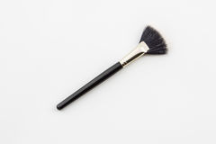 Cosmetic brush. Royalty Free Stock Photos