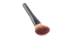 Cosmetic brush isolated on white Royalty Free Stock Photos