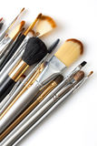 Cosmetic brushes Stock Images