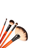 Cosmetic brushes Stock Photo