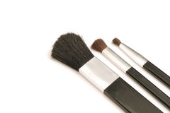 Cosmetic brushes. Shot of beauty & cosmetic brushes royalty free stock photography
