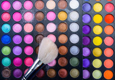 Cosmetic brushes Royalty Free Stock Images