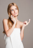 Cosmetic care for your skin. Stock Photography