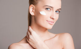 Cosmetic care for your skin. Stock Images