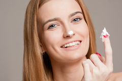 Cosmetic care for your skin. Stock Photos