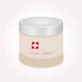 Cosmetic cellular cream Stock Images