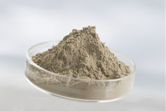 Cosmetic clay for spa treatments Stock Image