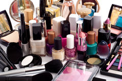 Cosmetic collection Royalty Free Stock Photo