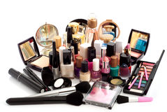 Cosmetic Collection Royalty Free Stock Image