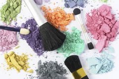 Cosmetic color Stock Images