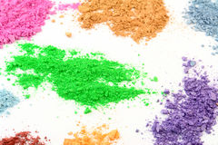Cosmetic Colors royalty free stock photos