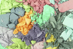 Cosmetic colors Stock Image