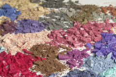 Cosmetic colors Royalty Free Stock Photography