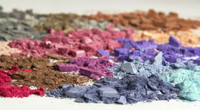 Cosmetic colors Stock Photos