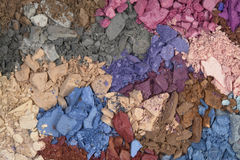 Cosmetic colors Stock Photography