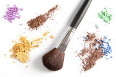 Cosmetic colors royalty free stock photo