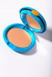 Cosmetic compact powder box Royalty Free Stock Photography