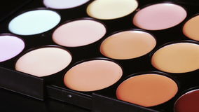 Cosmetic concealer stock video footage